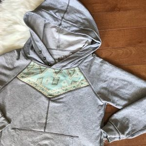 Free People | We The Free Gray Patterned Pullover
